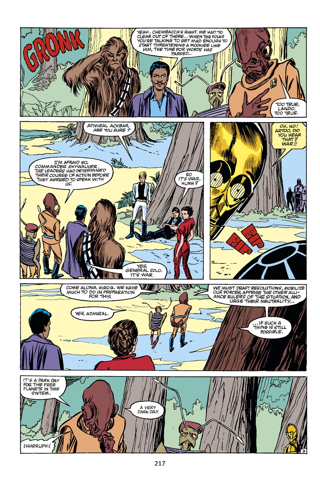 Read online Star Wars Omnibus comic -  Issue # Vol. 21 - 208
