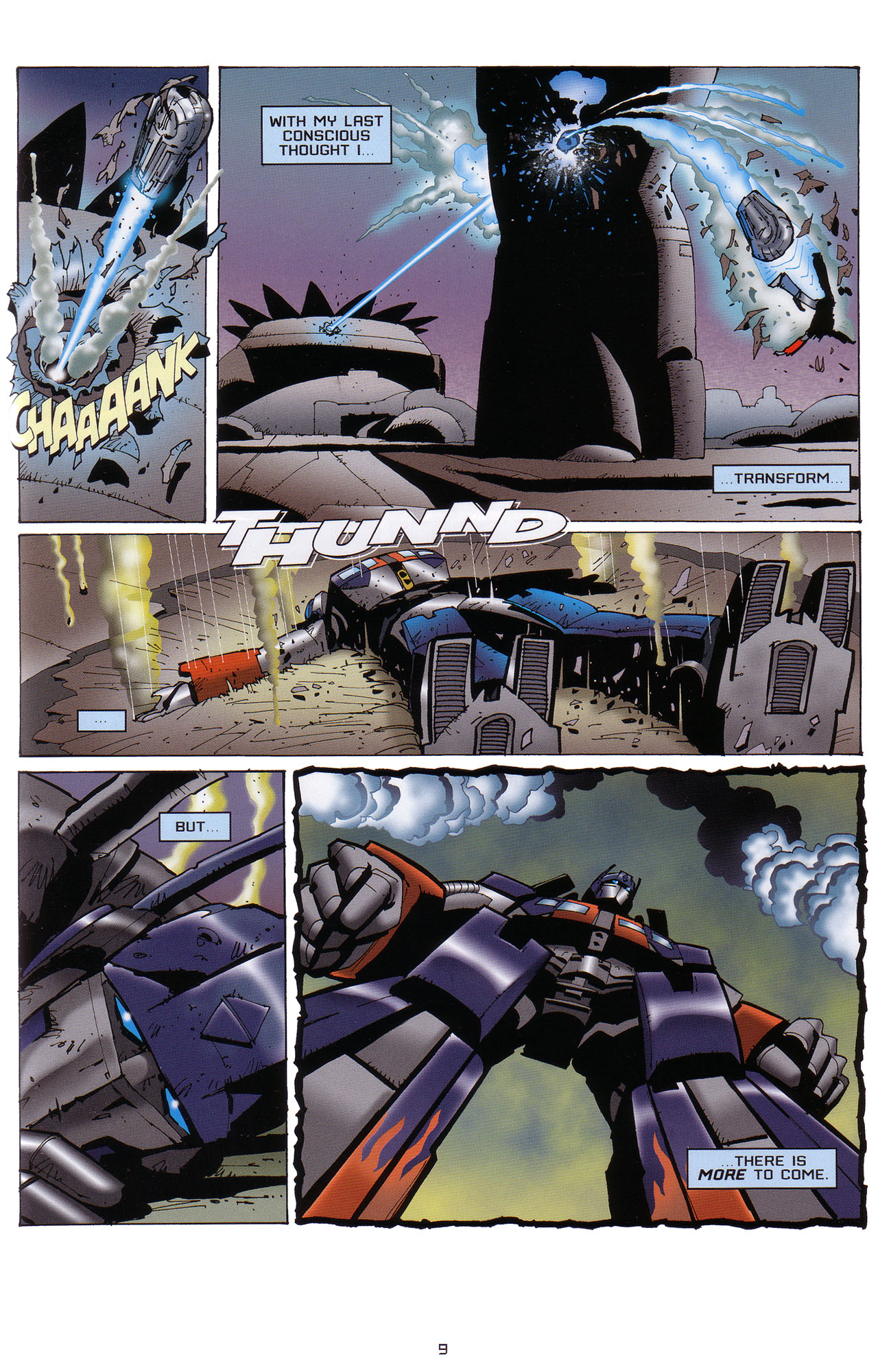 Read online Transformers: Saga of the Allspark comic -  Issue #1 - 10
