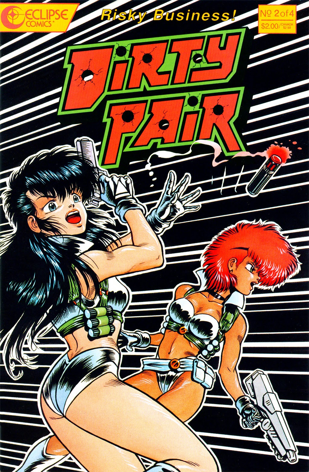 Dirty Pair 2 Page 1