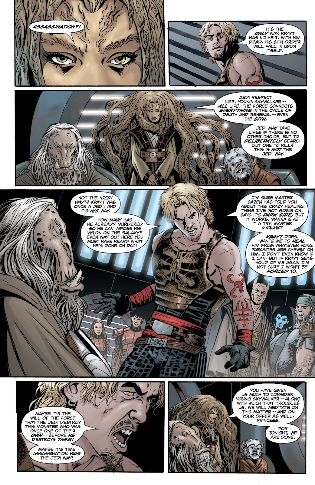 Read online Star Wars Legends: Legacy - Epic Collection comic -  Issue # TPB 2 (Part 2) - 69
