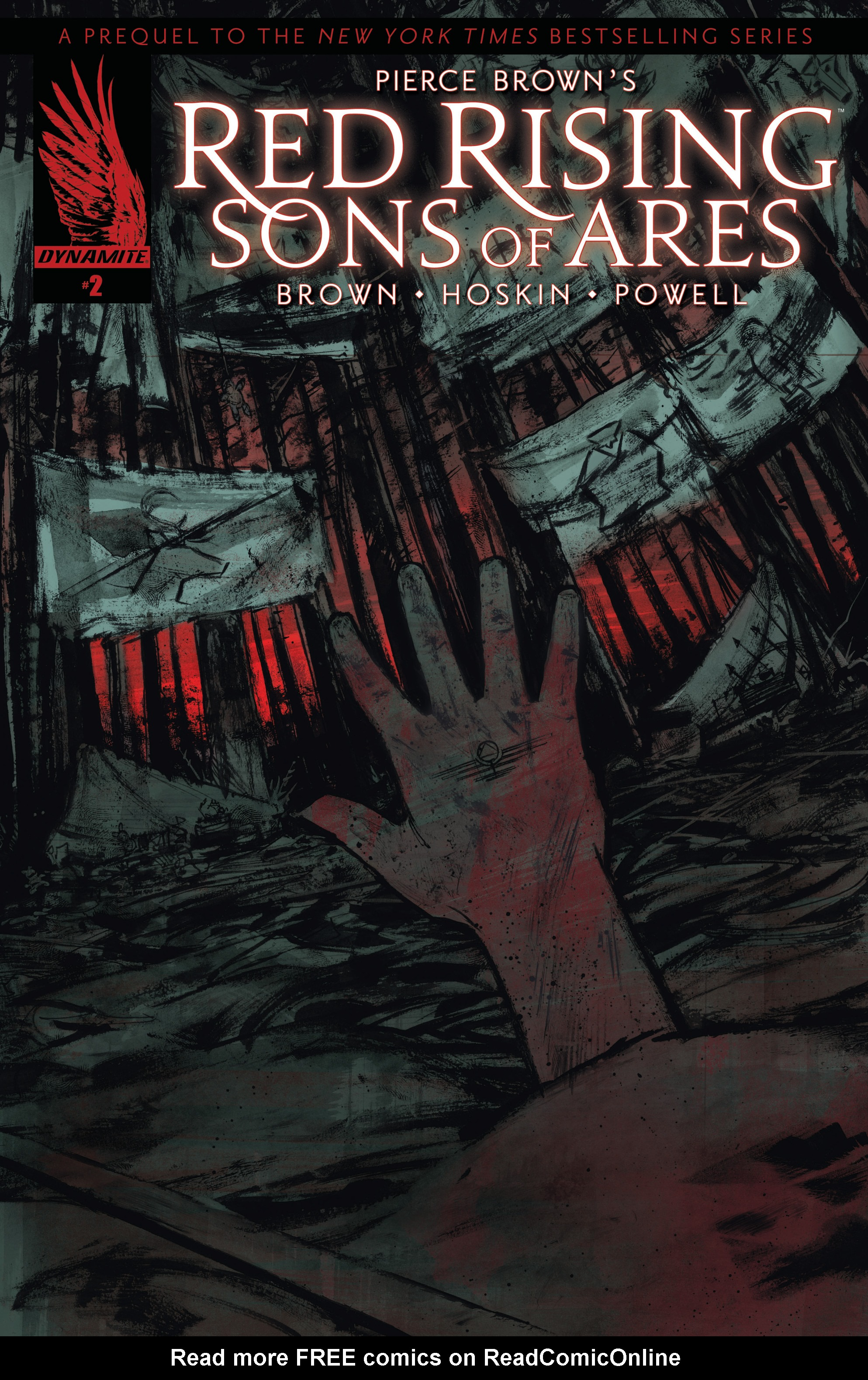 Read online Pierce Brown's Red Rising: Son Of Ares comic -  Issue #2 - 2