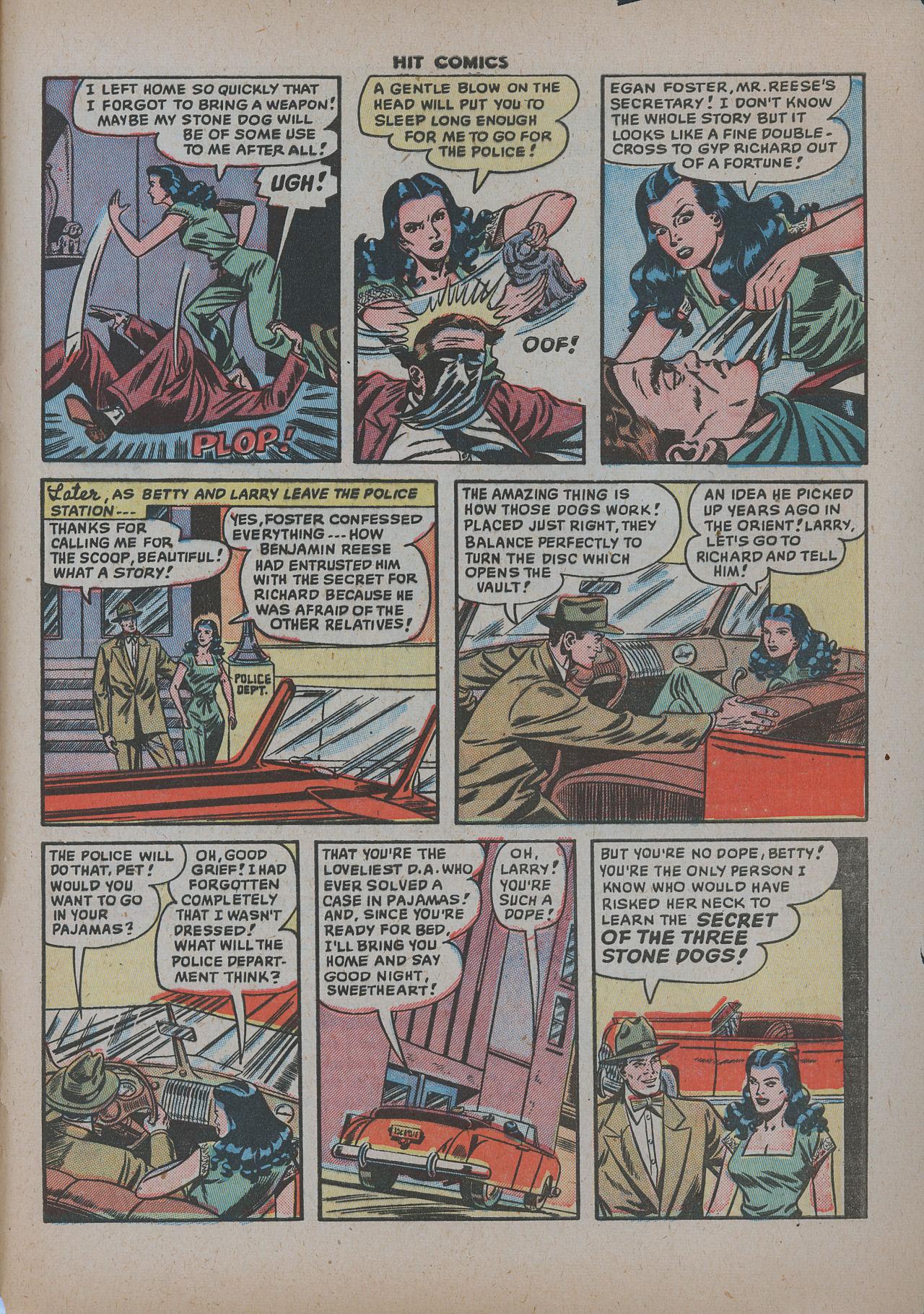 Read online Hit Comics comic -  Issue #62 - 34