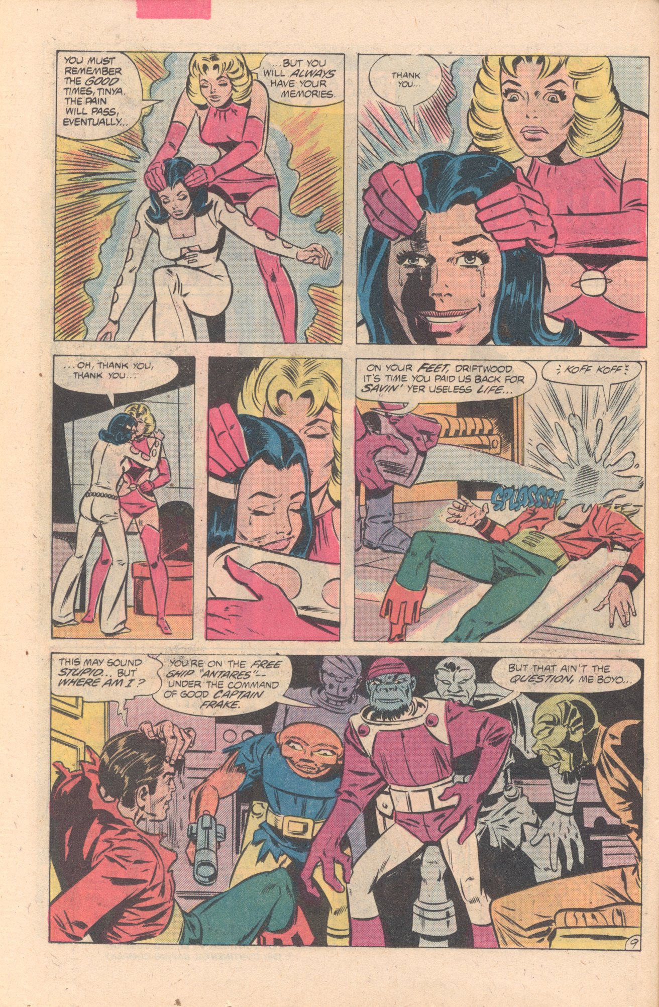 Legion of Super-Heroes (1980) 274 Page 9