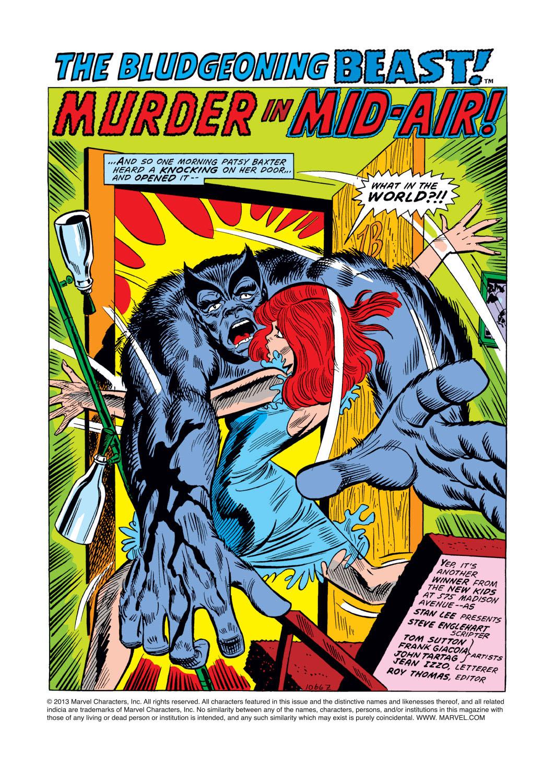 Read online Amazing Adventures (1970) comic -  Issue #15 - 2