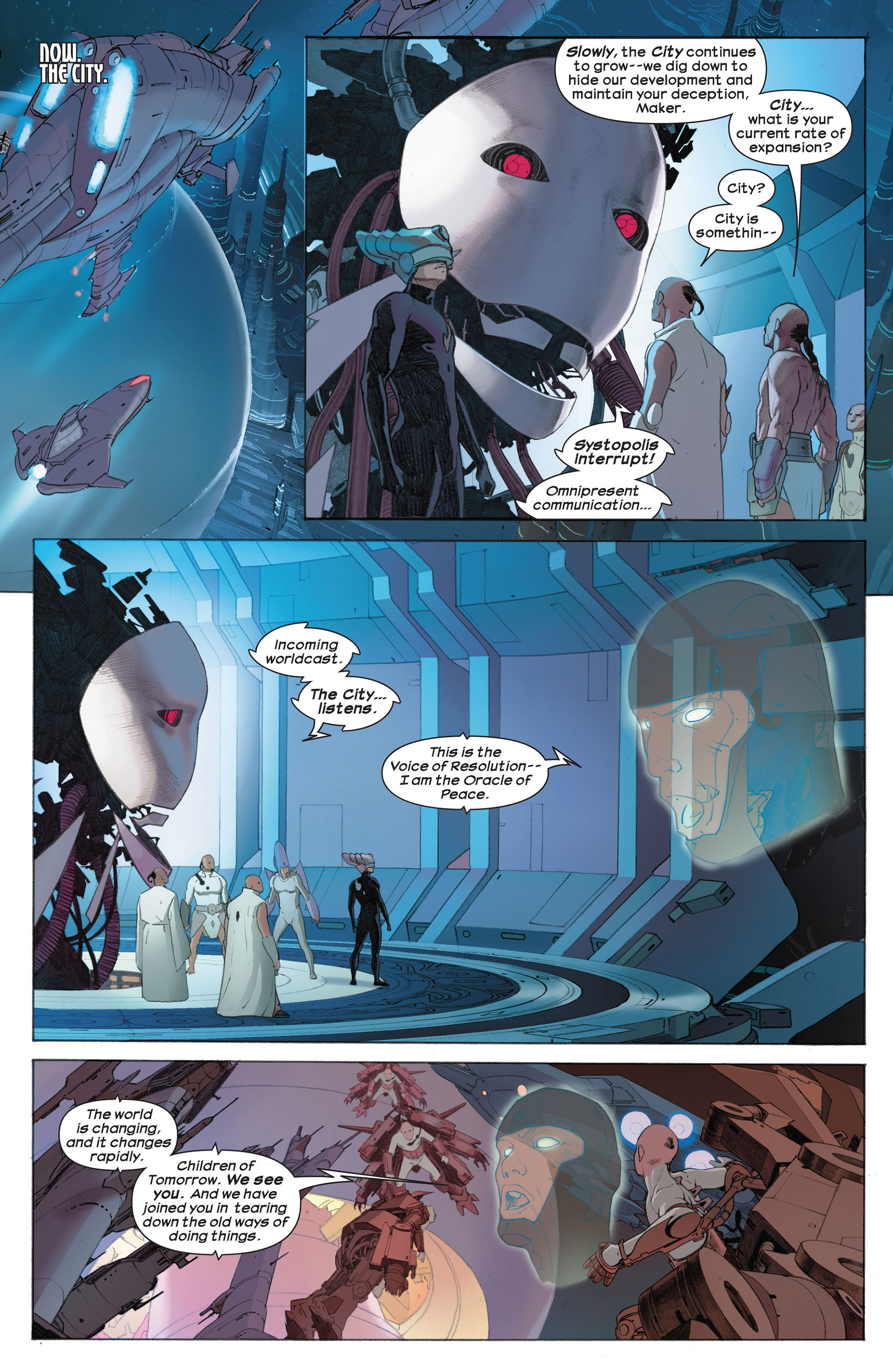 Read online Ultimate Comics Ultimates comic -  Issue #7 - 11