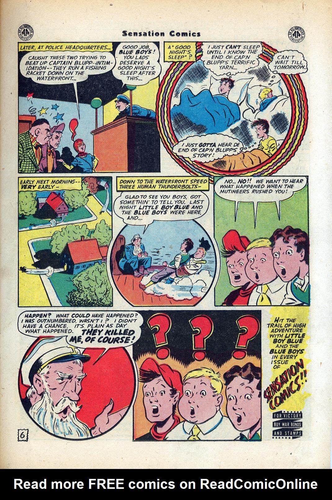 Read online Sensation (Mystery) Comics comic -  Issue #45 - 21