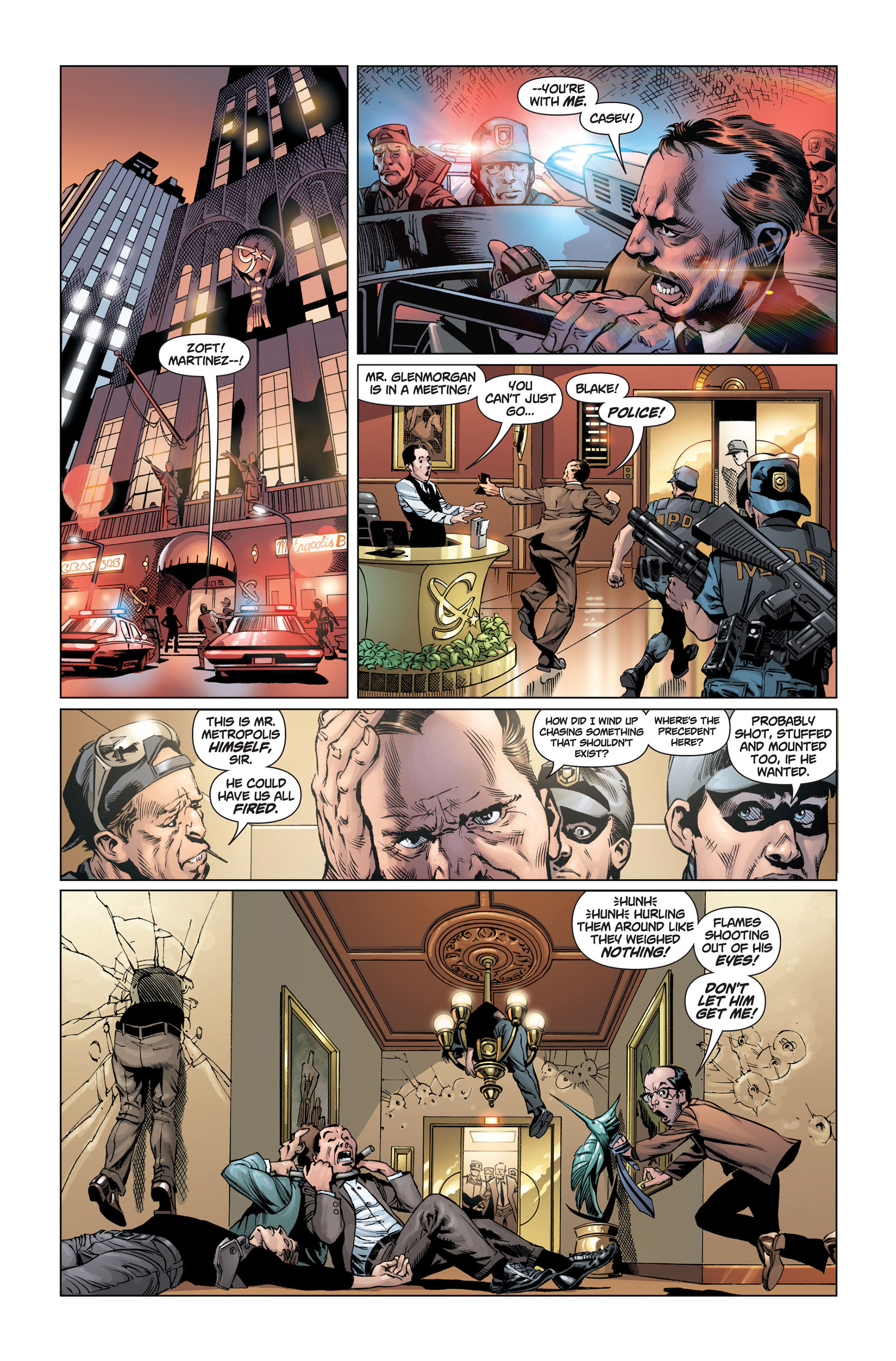 Read online Action Comics (2011) comic -  Issue #1 - 9