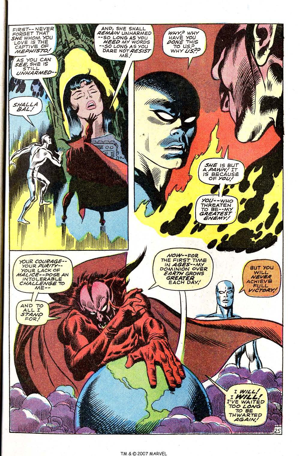 Silver Surfer (1968) issue 3 - Page 31