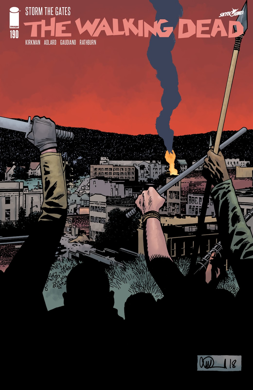 The Walking Dead issue 190 - Page 1