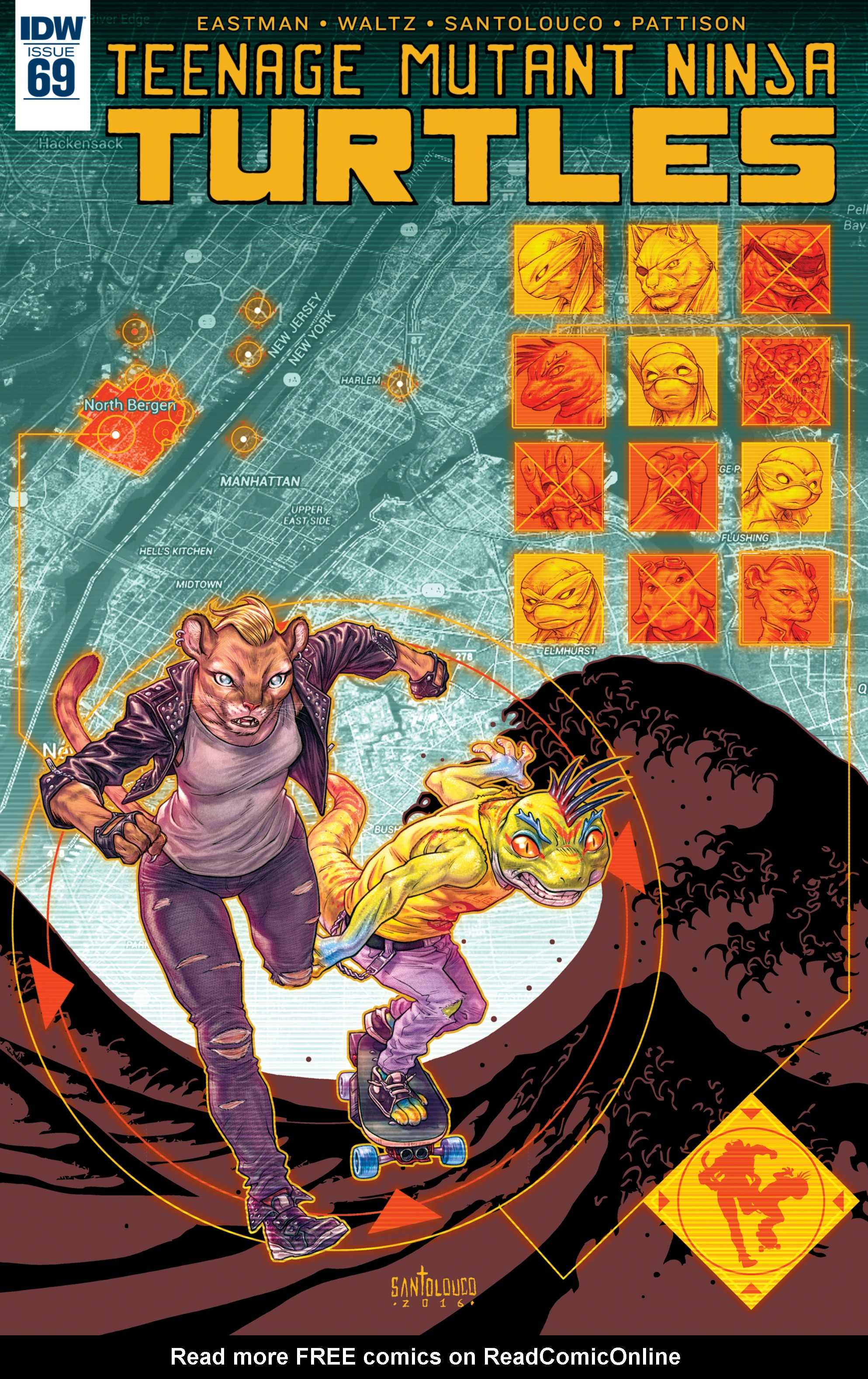 Read online Teenage Mutant Ninja Turtles (2011) comic -  Issue #69 - 1