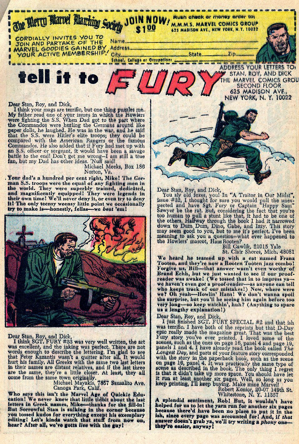 Read online Sgt. Fury comic -  Issue #36 - 31