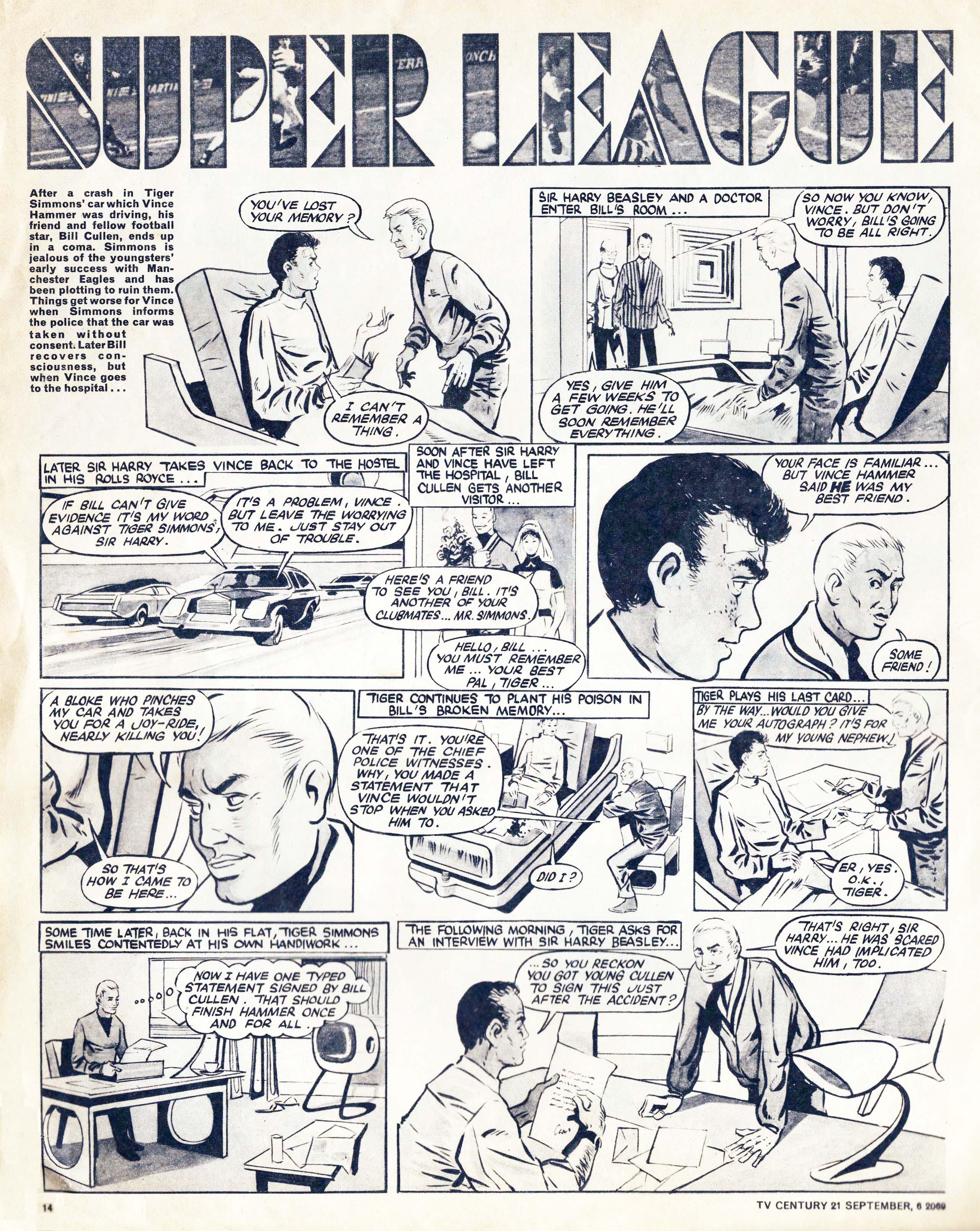 Read online TV Century 21 (TV 21) comic -  Issue #242 - 14