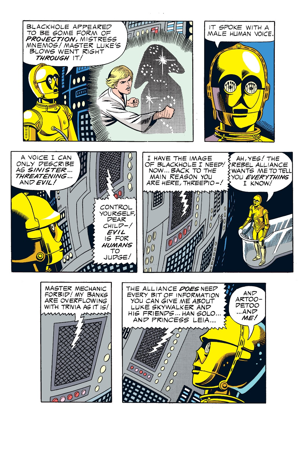 Read online Star Wars Legends: The Newspaper Strips - Epic Collection comic -  Issue # TPB (Part 1) - 75
