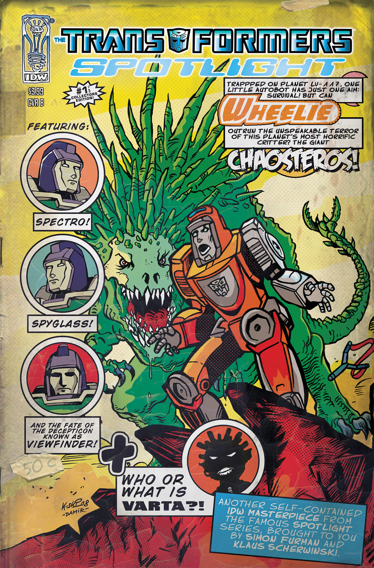 Read online Transformers Spotlight: Wheelie comic -  Issue # Full - 2