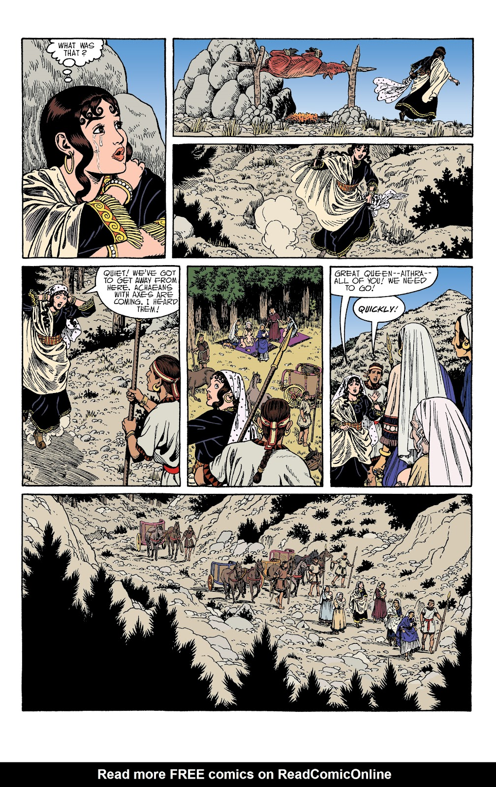 Read online Age of Bronze comic -  Issue #34 - 25