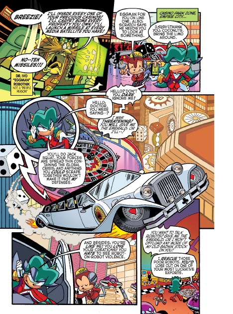 Read online Sonic Comics Spectacular: Speed of Sound comic -  Issue # Full - 2