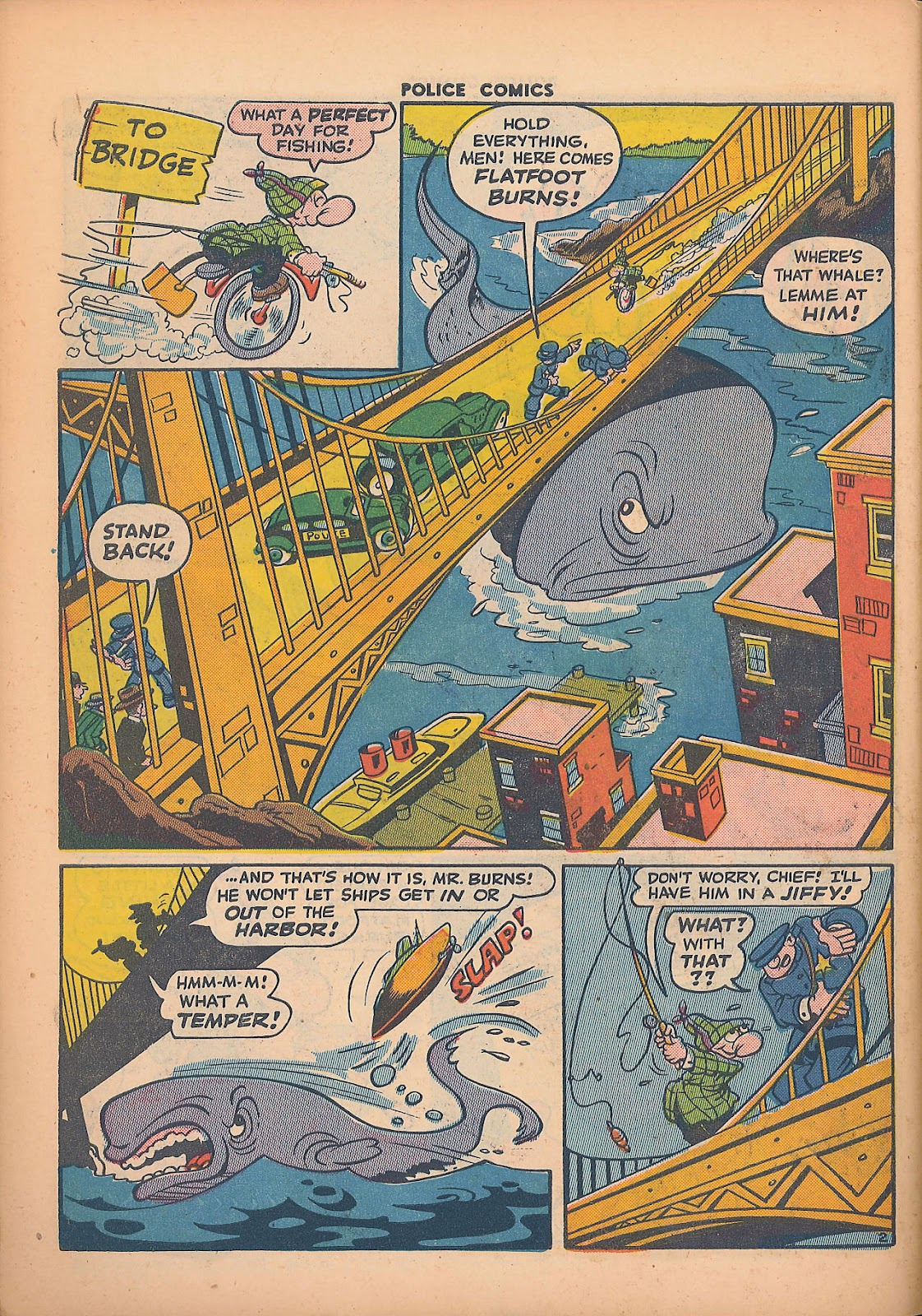 Police Comics issue 44 - Page 46