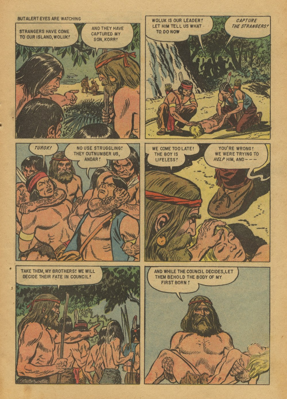 Read online Turok, Son of Stone comic -  Issue #12 - 25