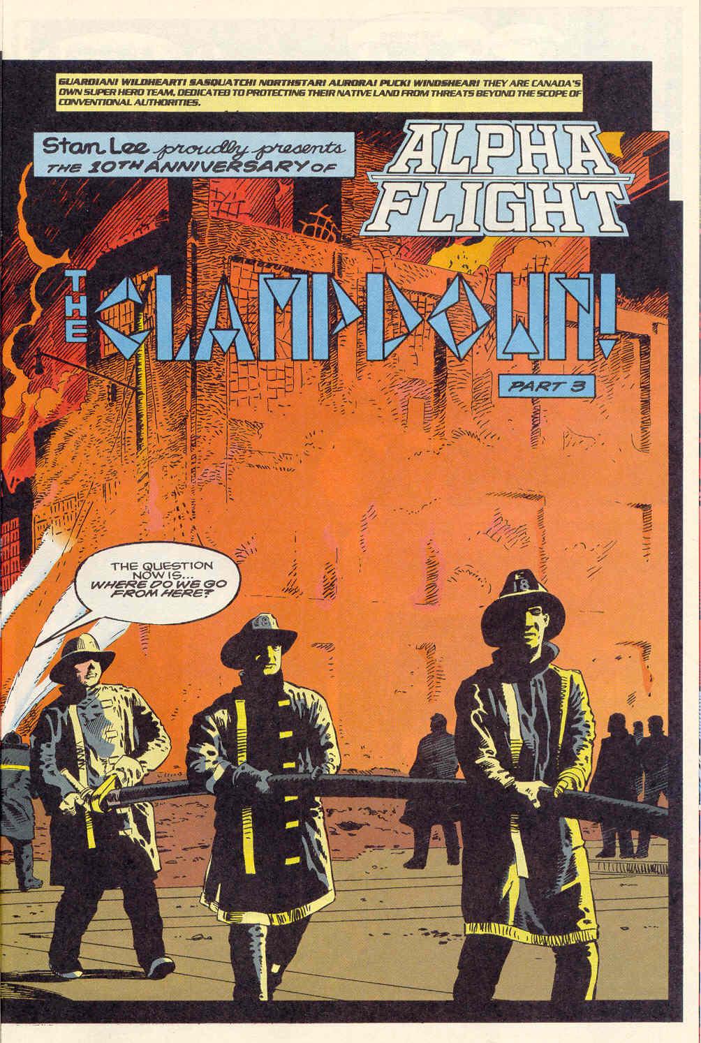 Read online Alpha Flight (1983) comic -  Issue #120 - 5