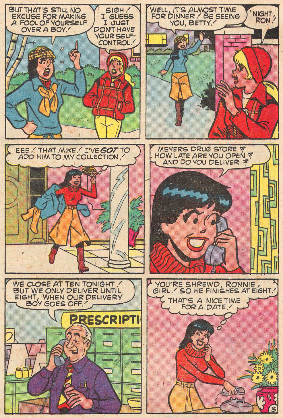 Read online Archie's Girls Betty and Veronica comic -  Issue #269 - 5