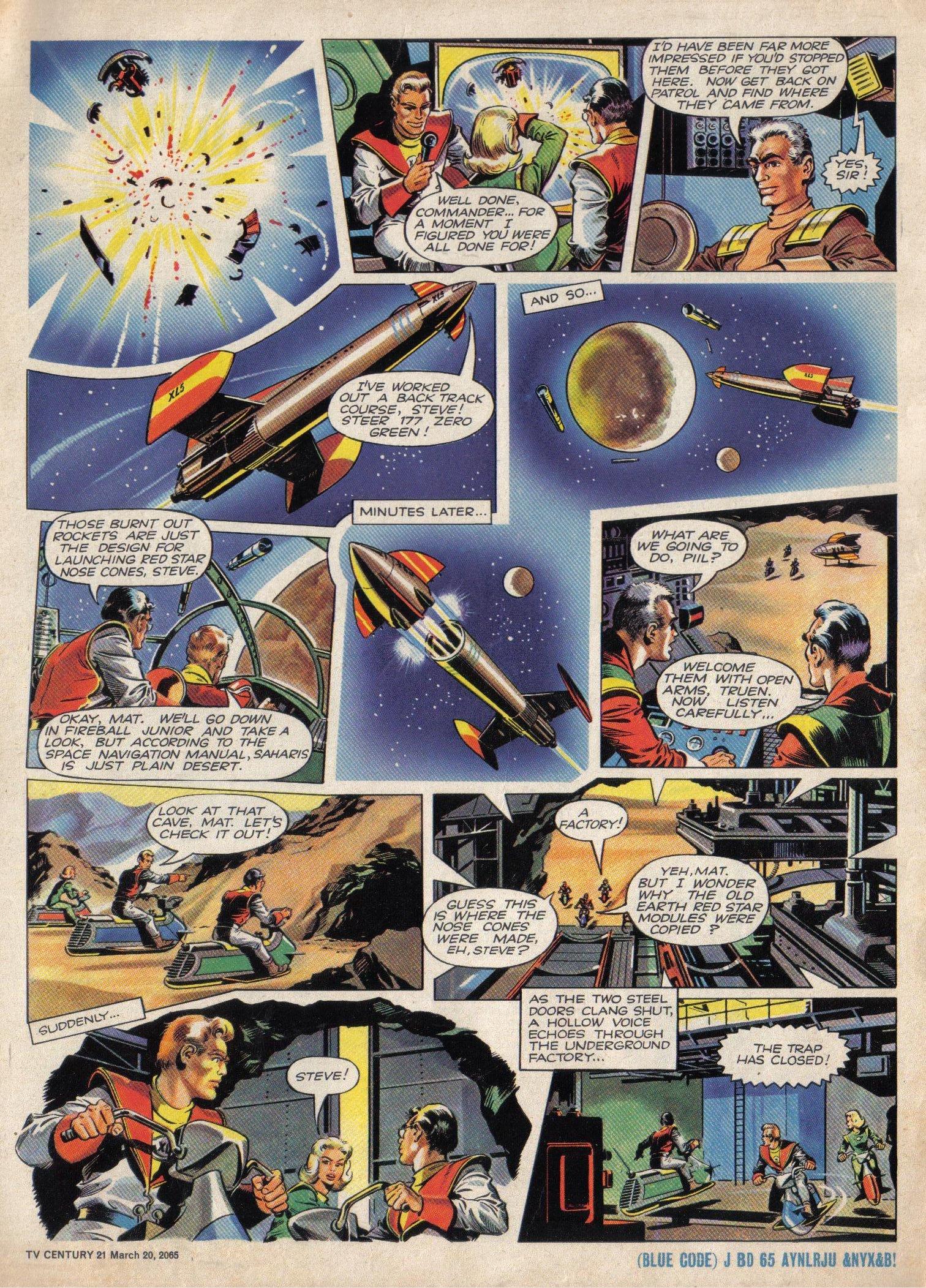 Read online TV Century 21 (TV 21) comic -  Issue #9 - 6