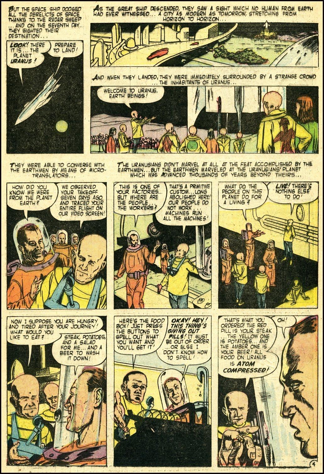 Read online Adventures into Weird Worlds comic -  Issue #25 - 20