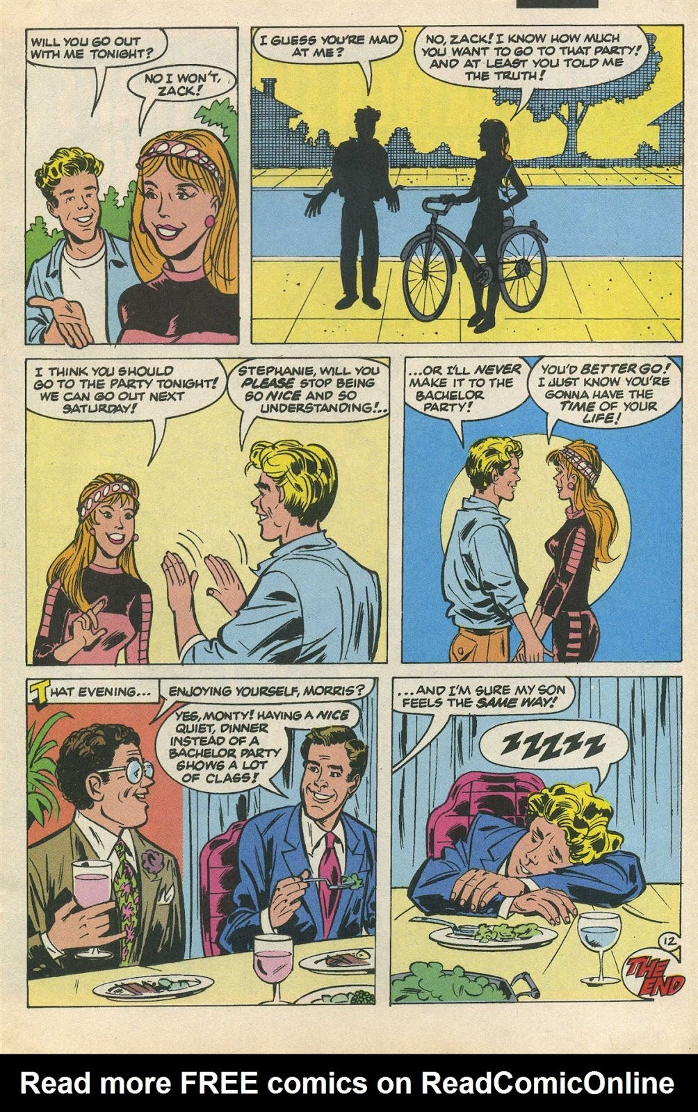 Read online Saved By The Bell comic -  Issue #3 - 17