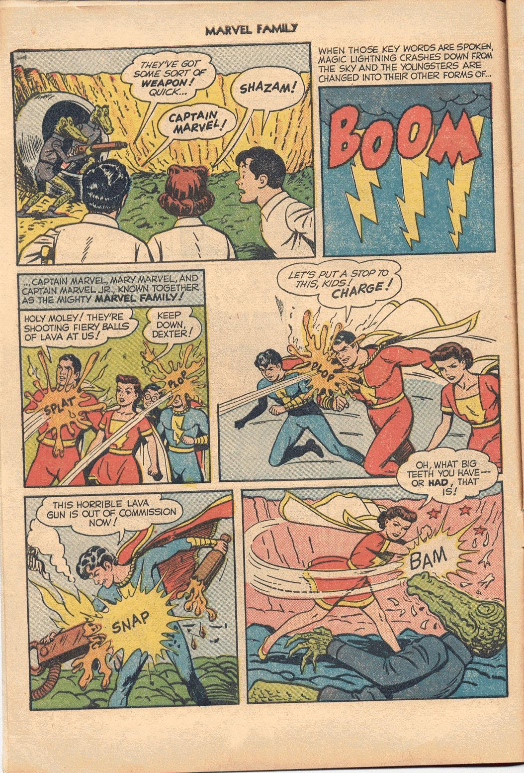 The Marvel Family issue 74 - Page 6
