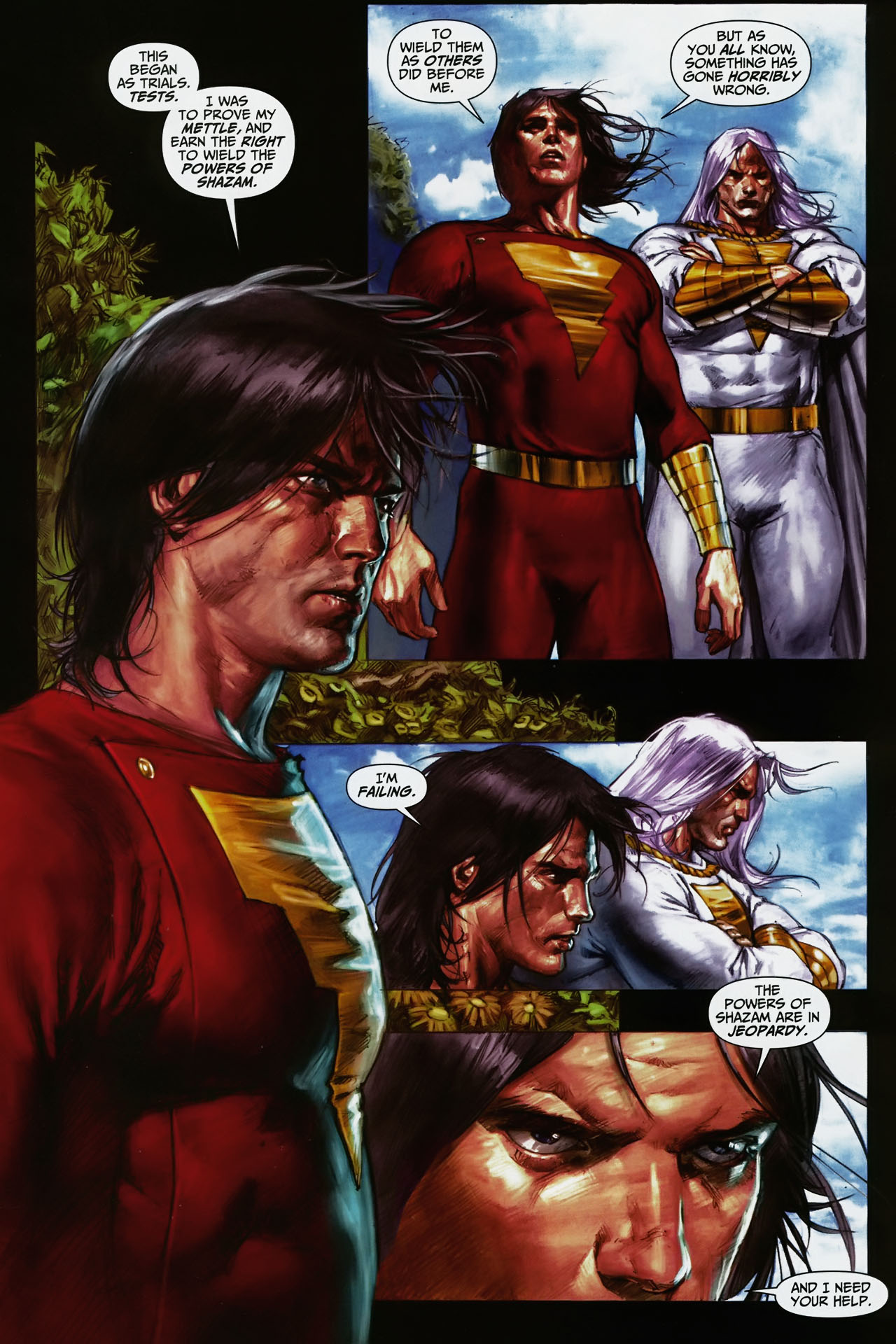 Read online Trials of Shazam comic -  Issue #11 - 2