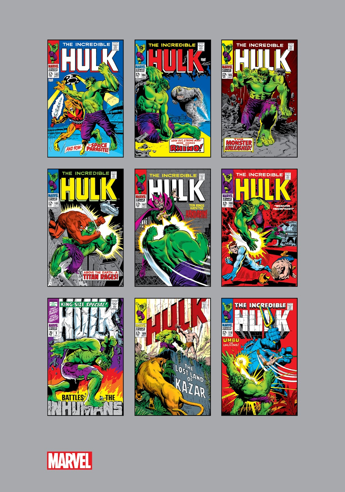 Read online Marvel Masterworks: The Incredible Hulk comic -  Issue # TPB 4 (Part 3) - 40
