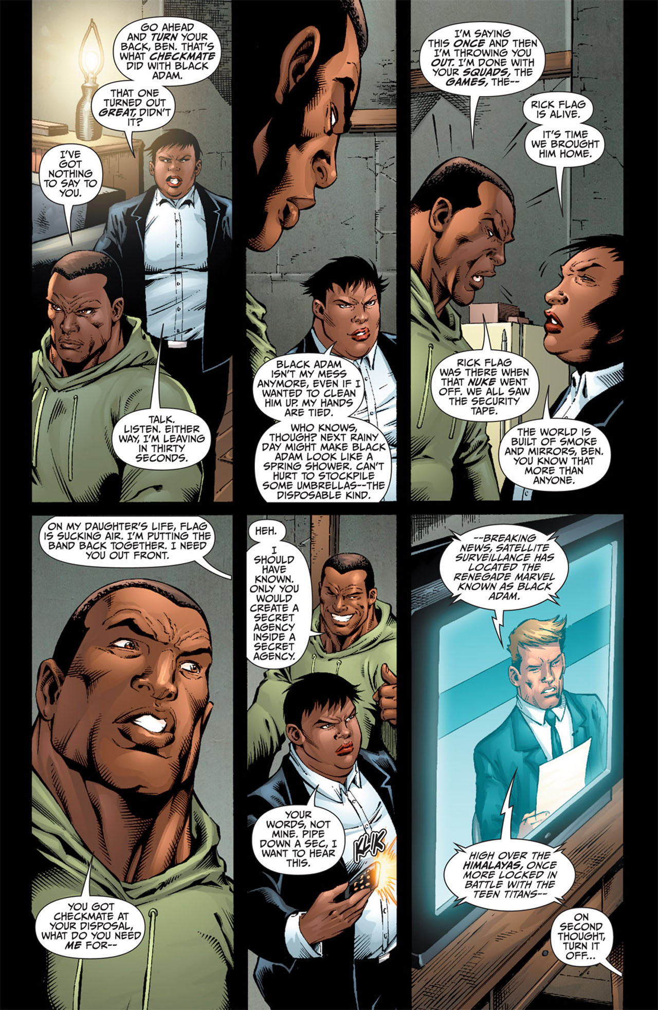 Read online World War III comic -  Issue #3 - 14