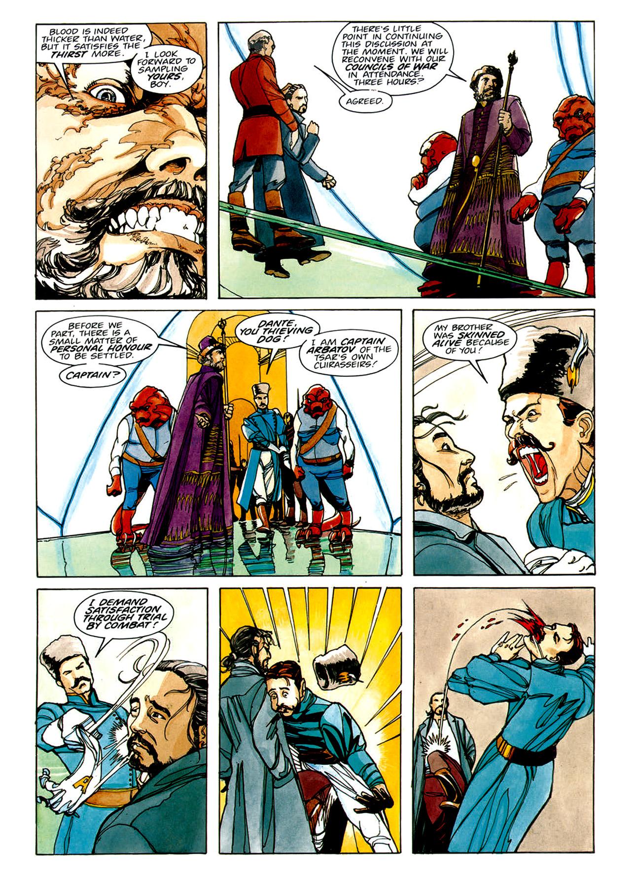 Read online Nikolai Dante comic -  Issue # TPB 1 - 54