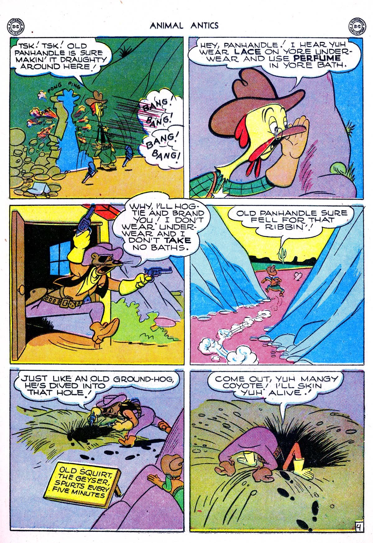Read online Animal Antics comic -  Issue #1 - 15