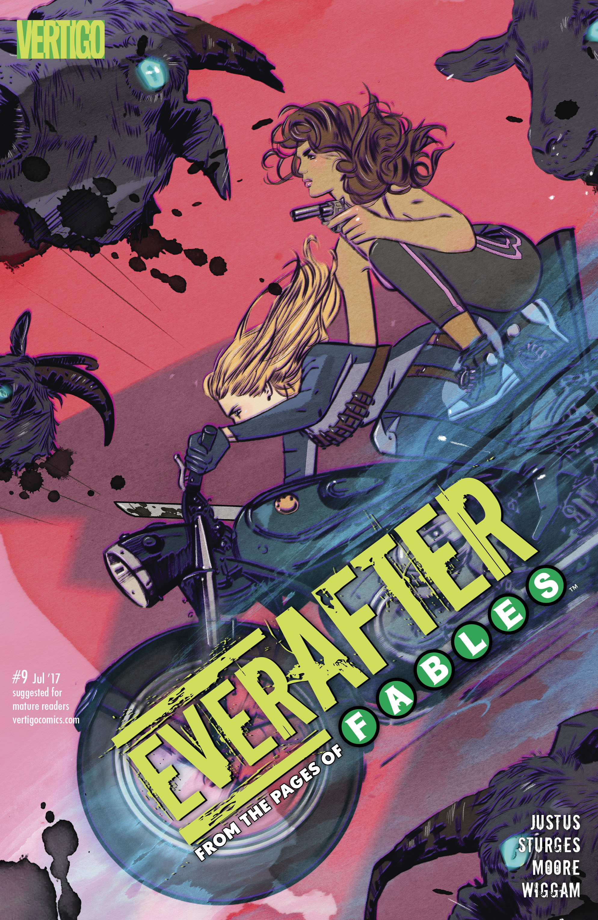 Read online Everafter comic -  Issue #9 - 1