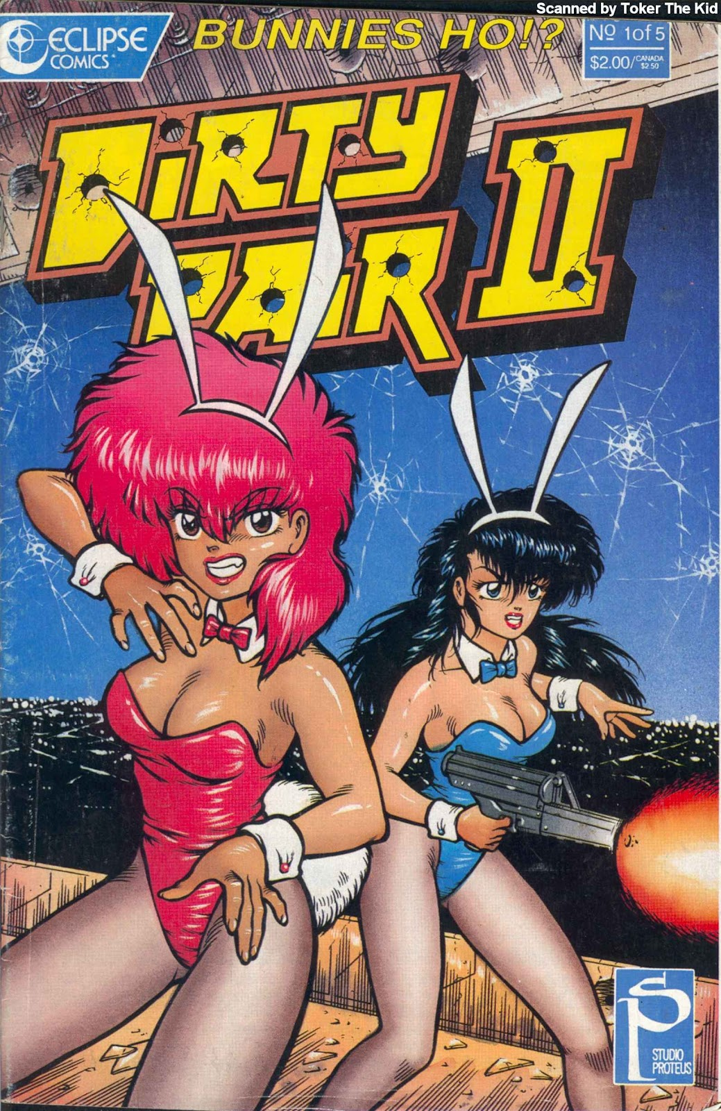 Dirty Pair II issue 3 - Page 1