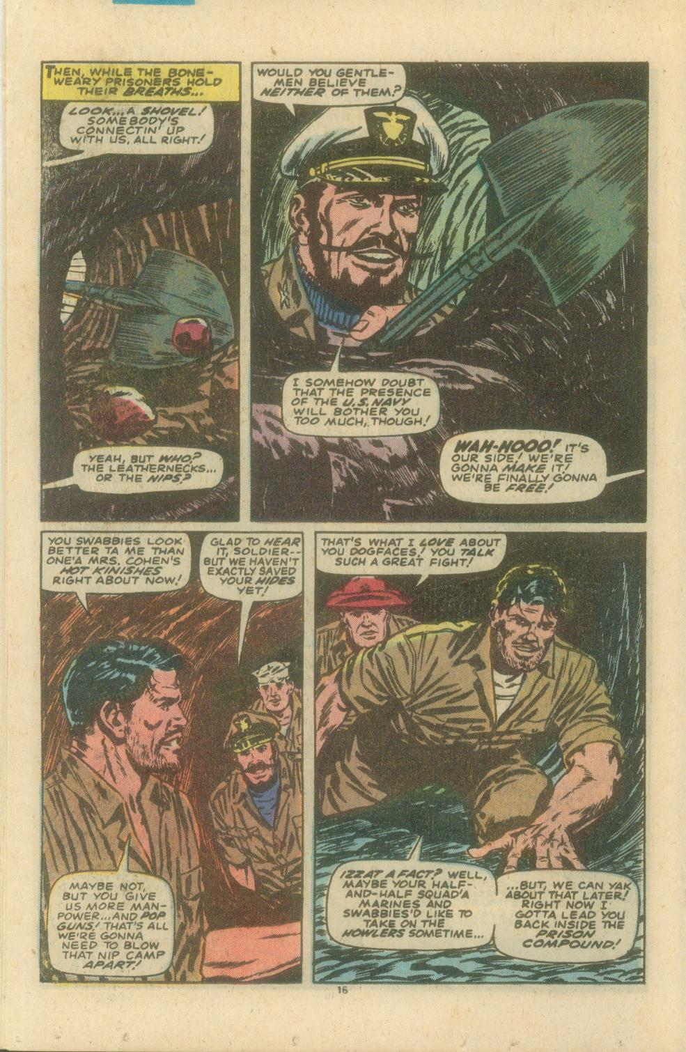 Read online Sgt. Fury comic -  Issue #154 - 18