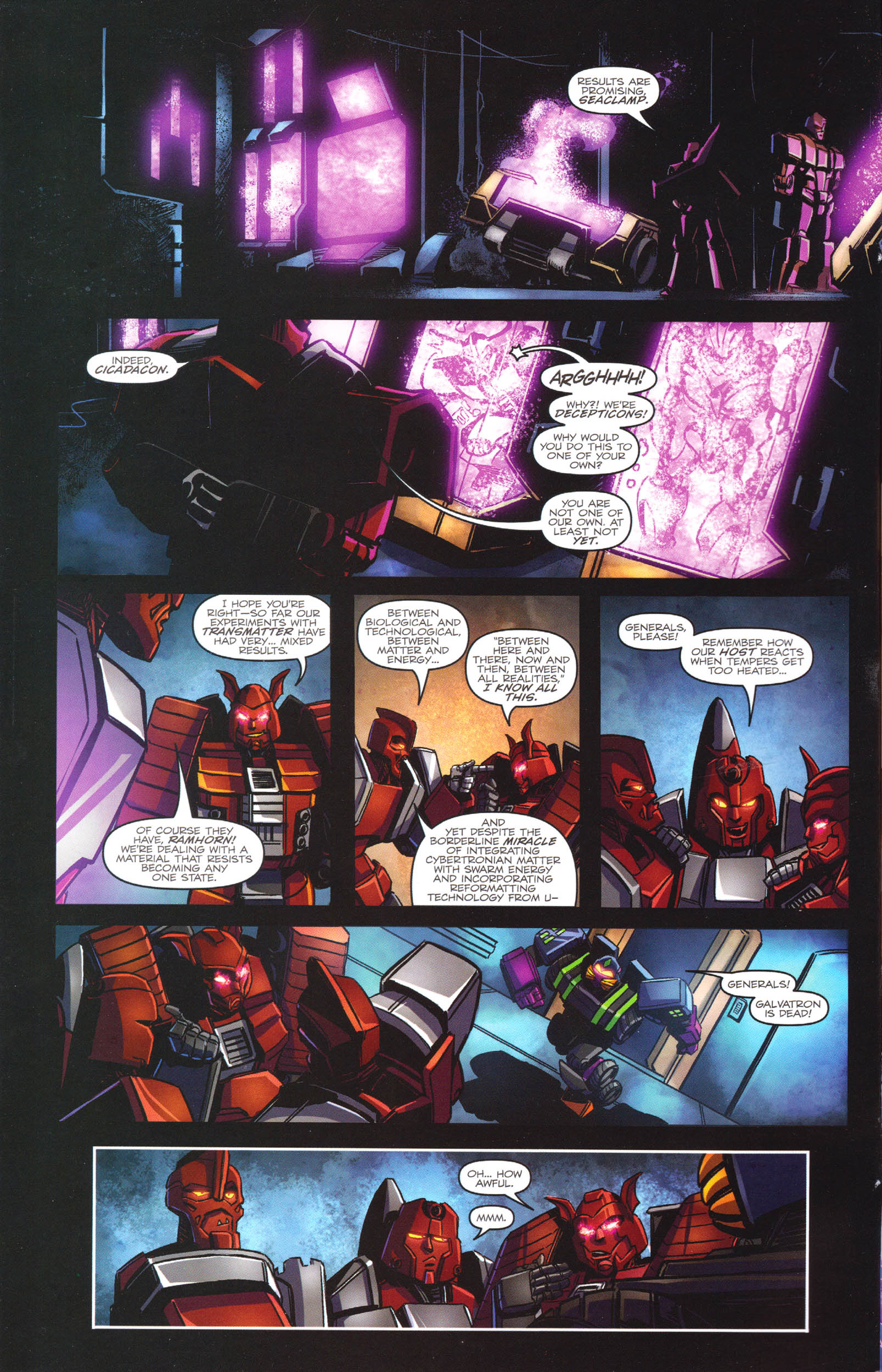 Read online Transformers: Dawn of the Predacus comic -  Issue # Full - 3