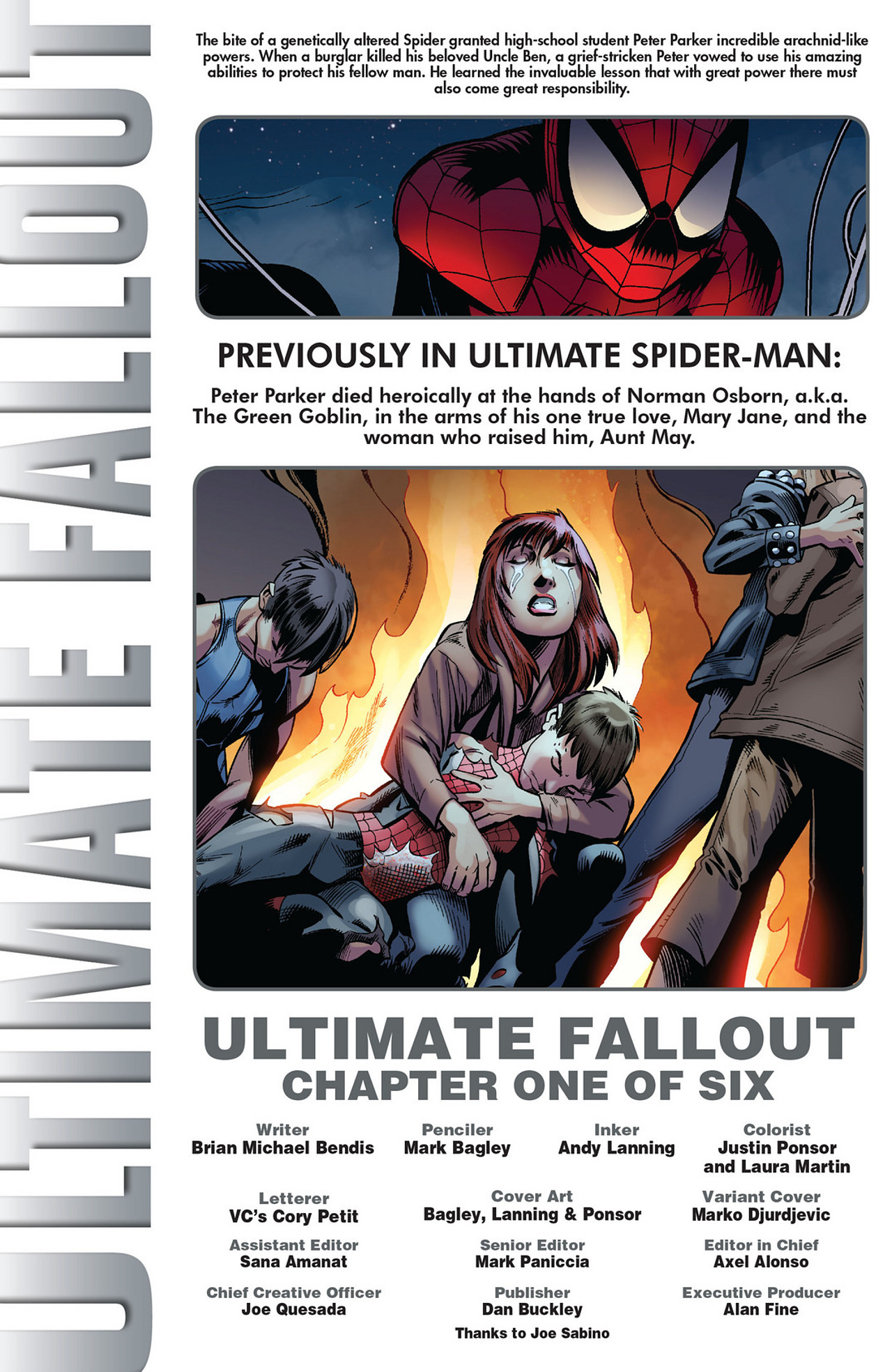 Read online Ultimate Fallout comic -  Issue #1 - 2