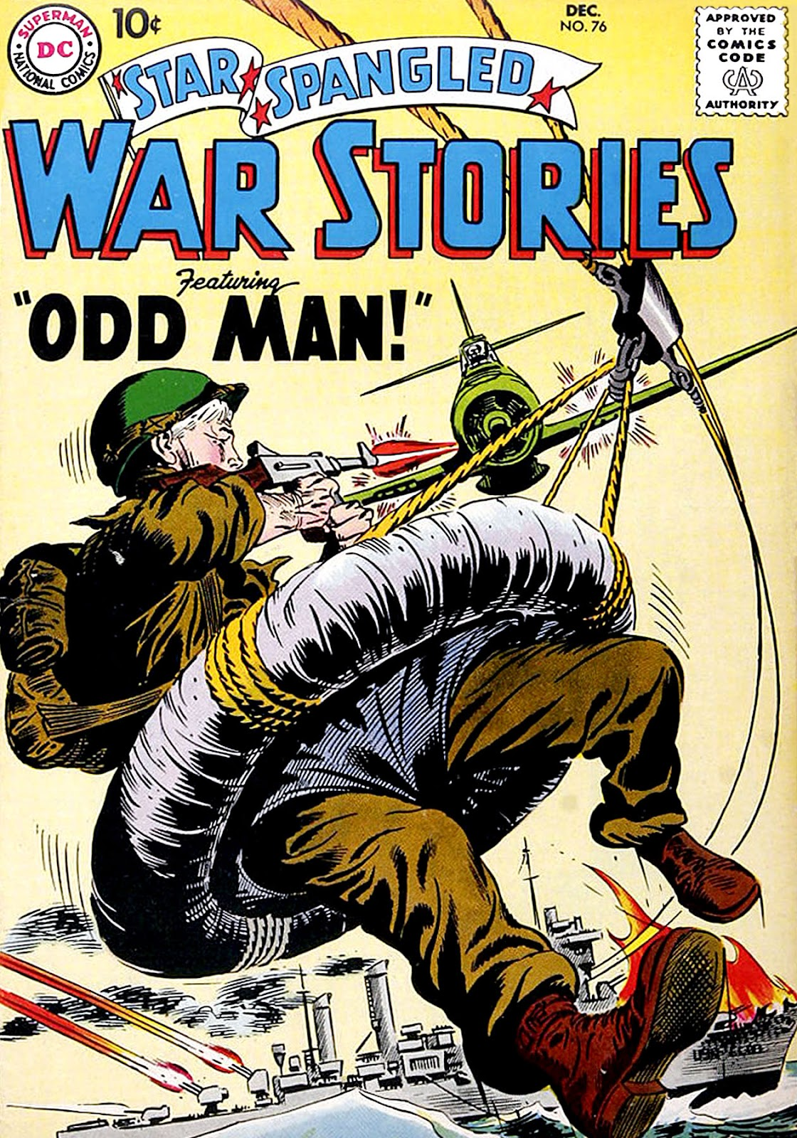 Star Spangled War Stories (1952) issue 76 - Page 1