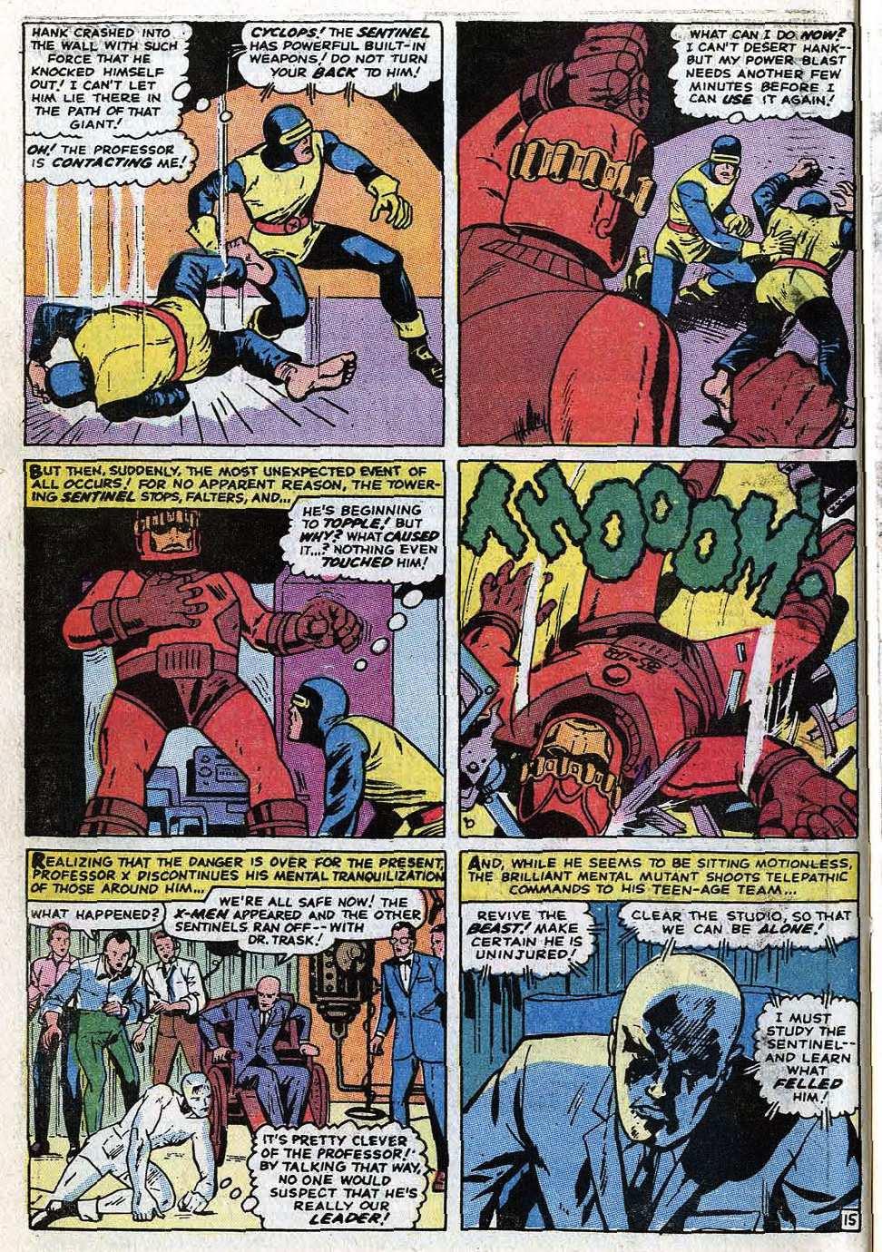 Uncanny X-Men (1963) 68 Page 19
