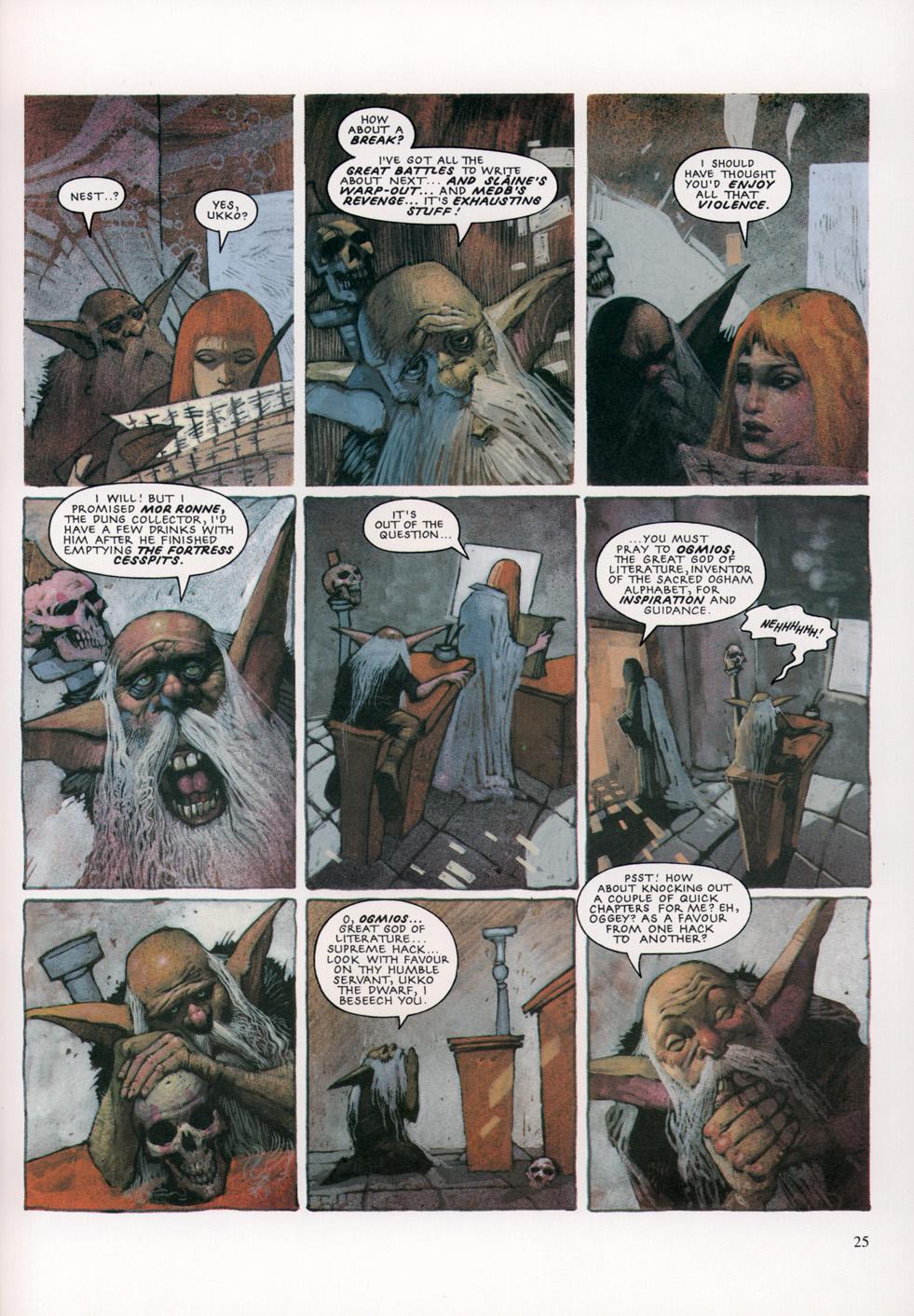 Read online Slaine: The Horned God (1993) comic -  Issue #4 - 26