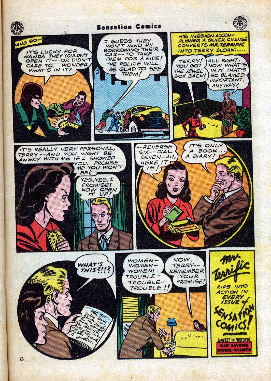 Read online Sensation (Mystery) Comics comic -  Issue #47 - 31