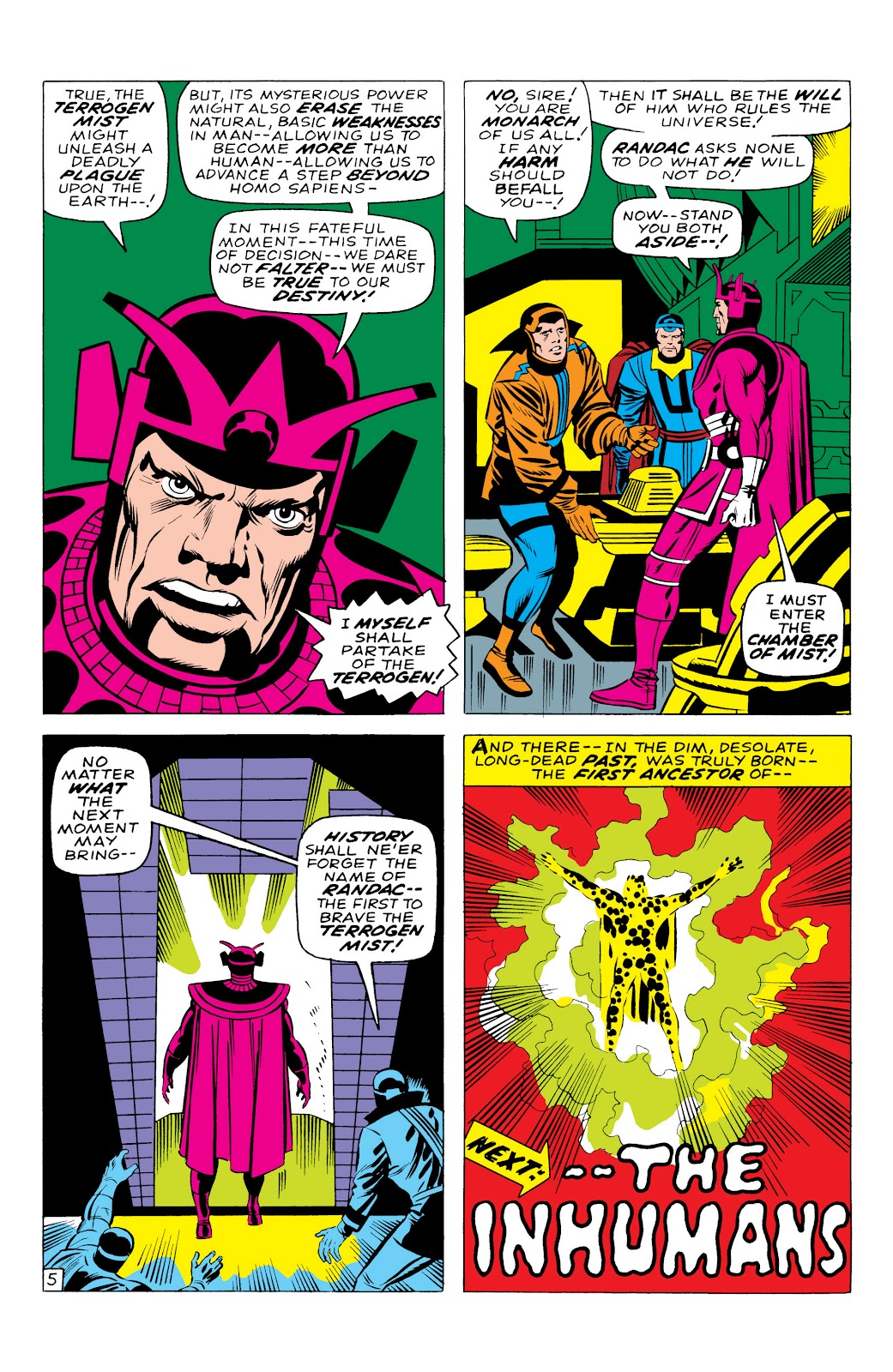 Read online Marvel Masterworks: The Inhumans comic -  Issue # TPB 1 (Part 1) - 12