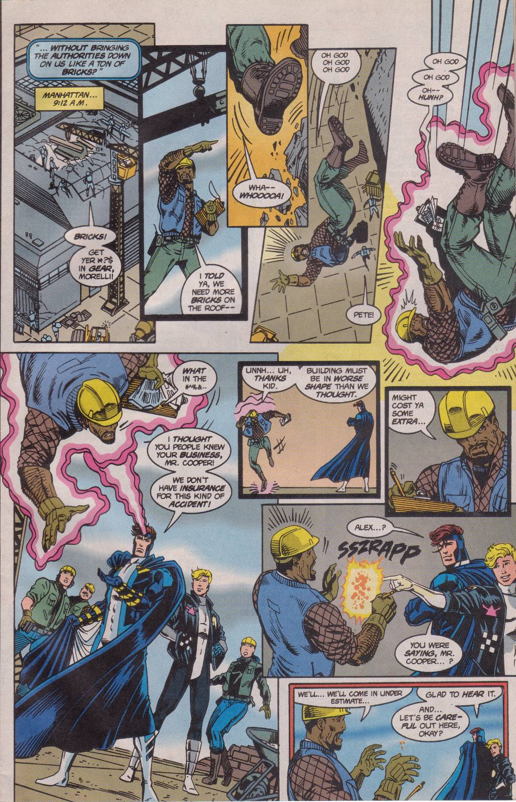 The New Warriors Issue #61 #65 - English 7