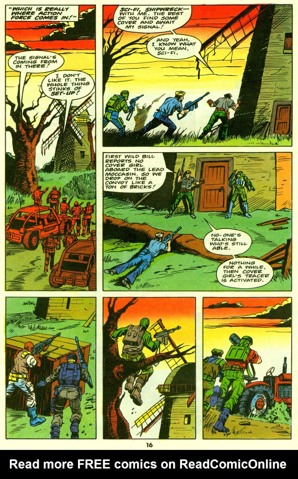G.I. Joe European Missions issue 9 - Page 17