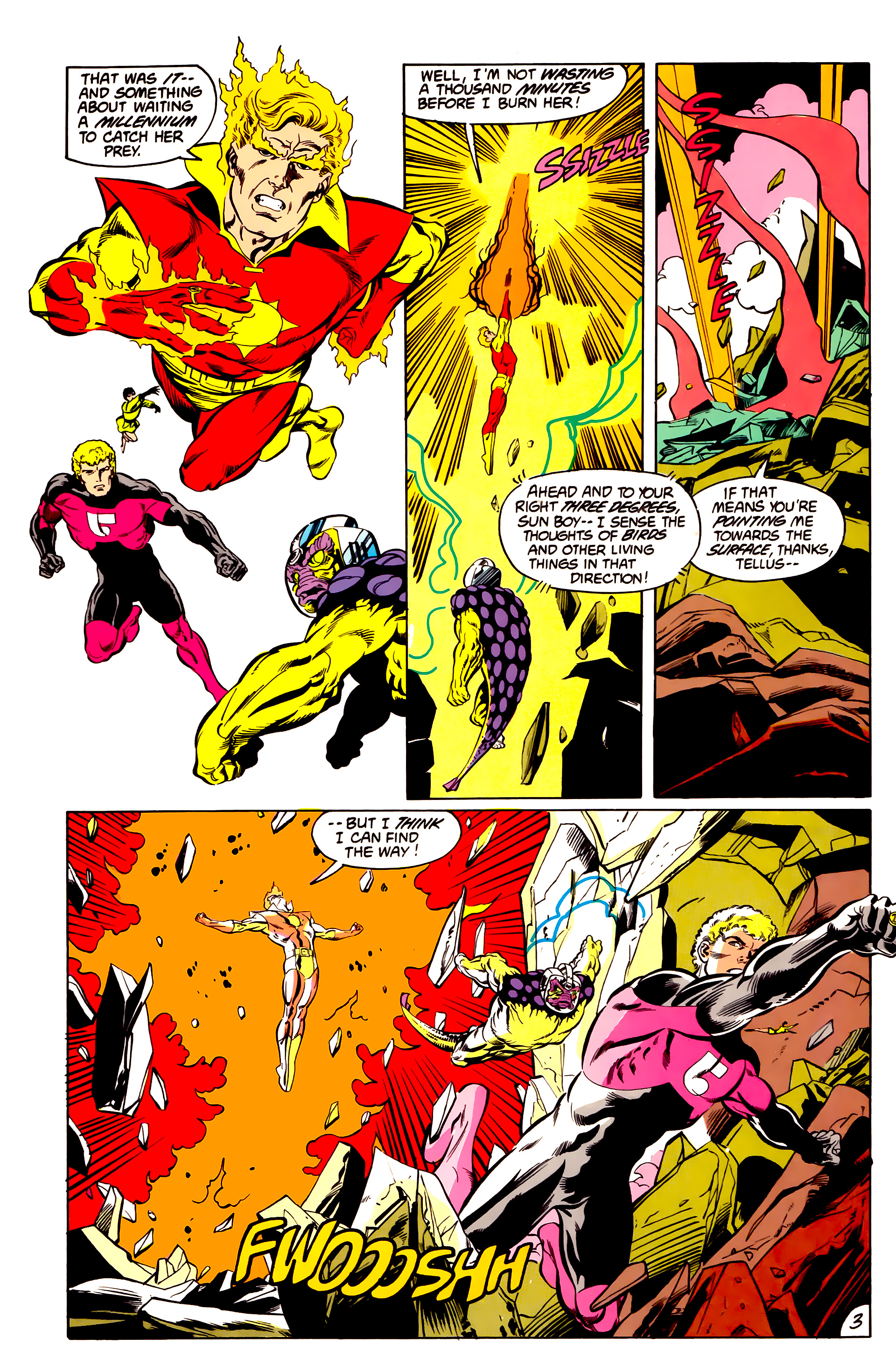 Legion of Super-Heroes (1984) 43 Page 3