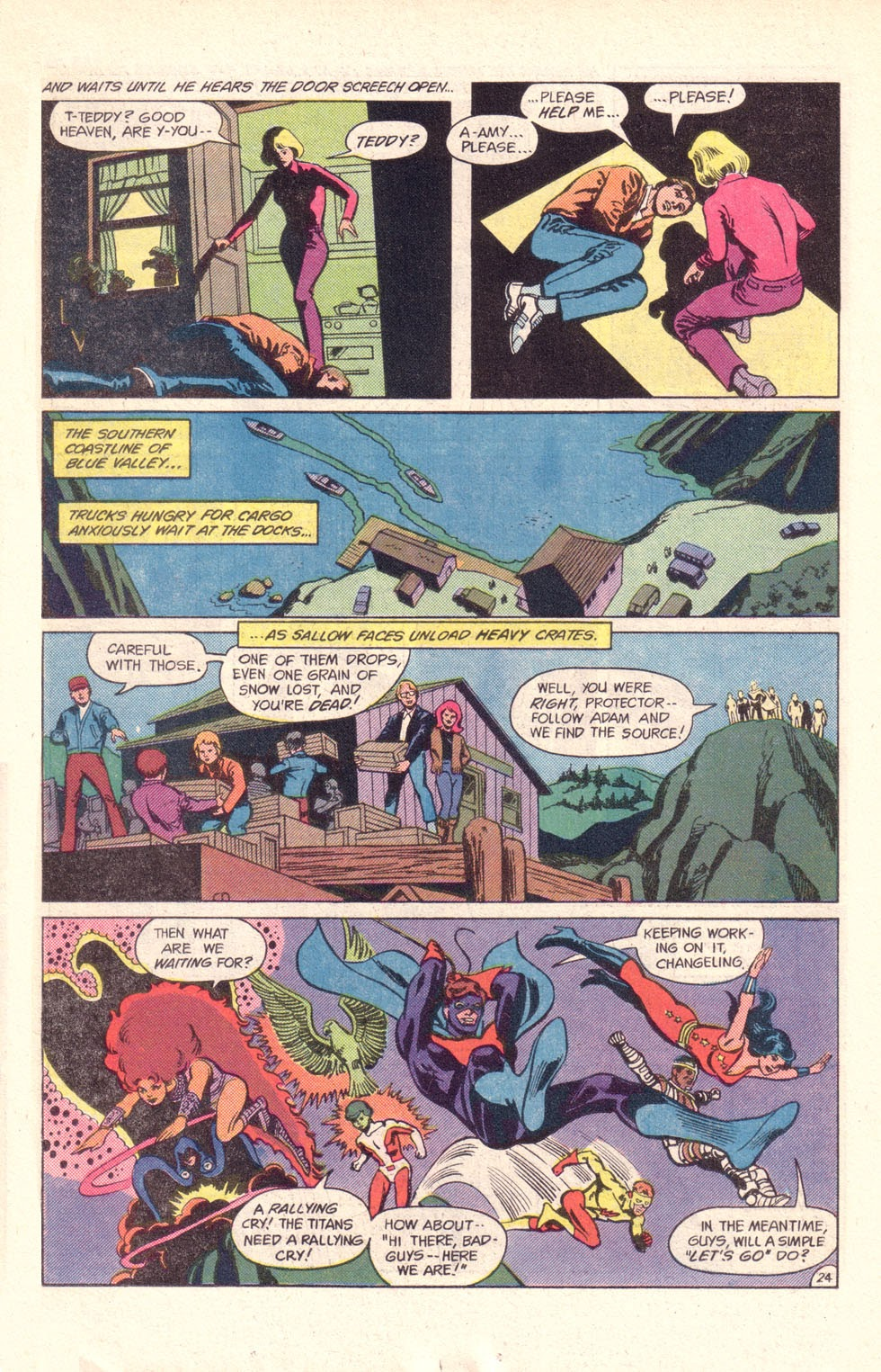 Read online The New Teen Titans (Drug Awareness Specials) comic -  Issue #1 - 26