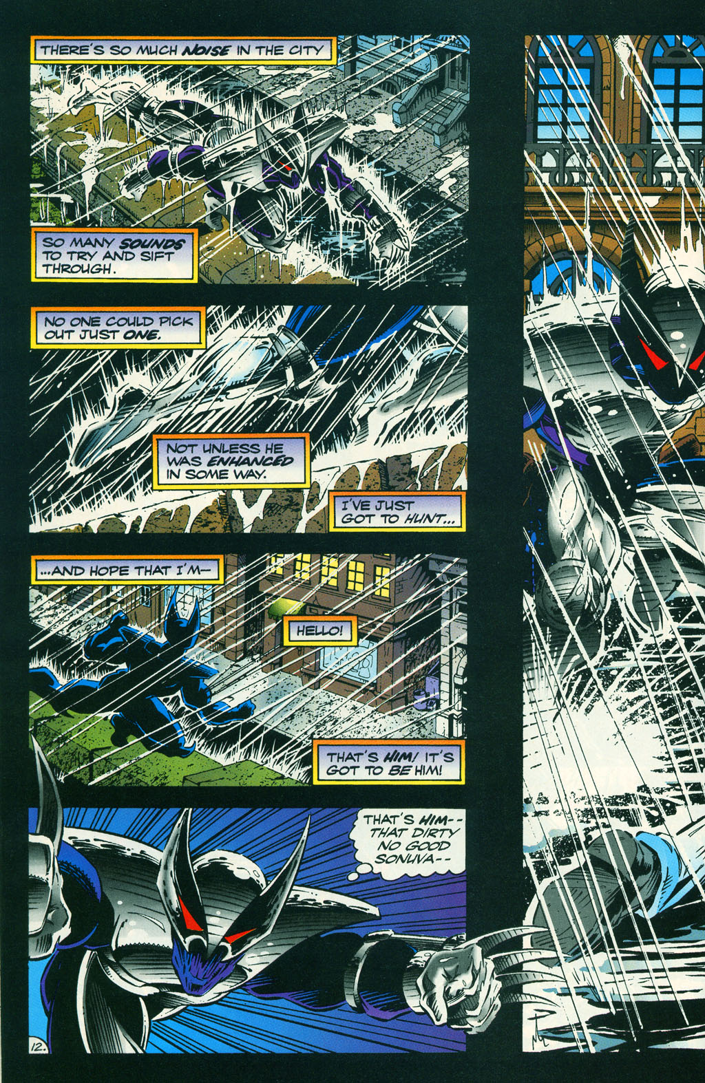 Read online ShadowHawk comic -  Issue #6 - 16