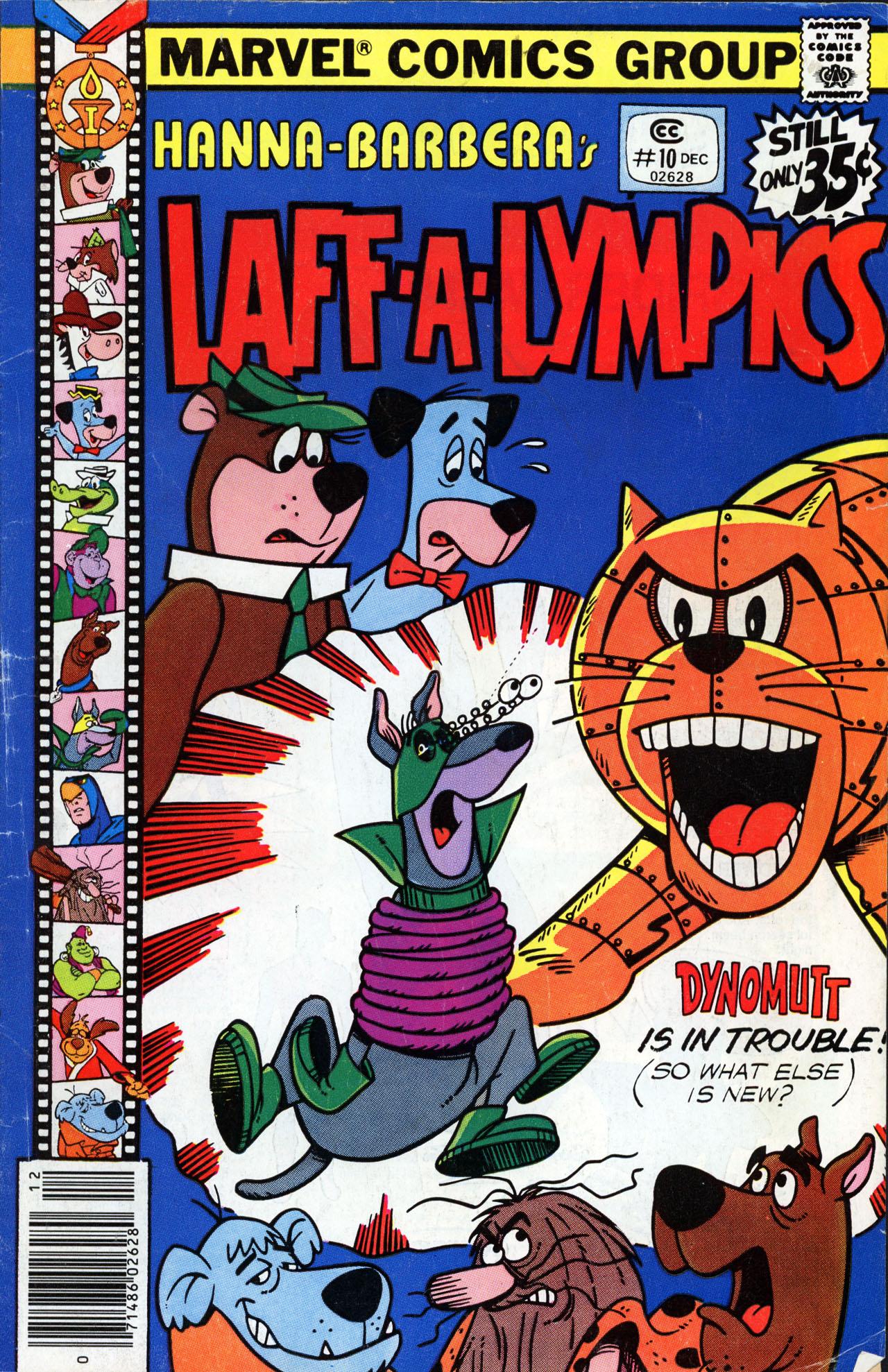 Laff-a-lympics 10 Page 1