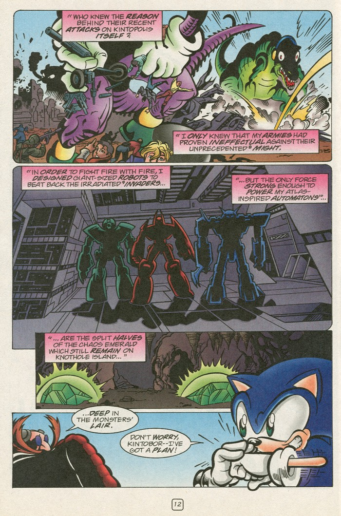 Read online Sonic Super Special comic -  Issue #12 - Sonic and Knuckles visa versa - 29
